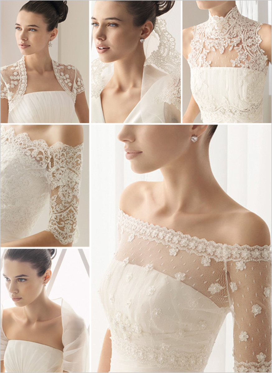 Different Types of Bridal Lace Used for Wedding Dresses