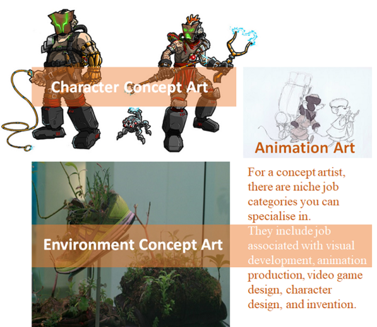 Top Concept Artist Job Opportunities Game Art And Design Industry Hubpages