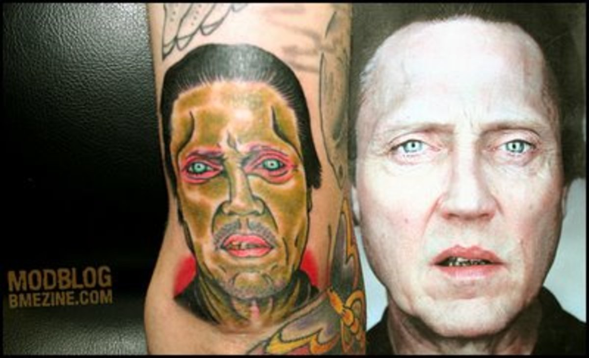 Again, make sure the tat artist isn't color blind and is actually an artist!