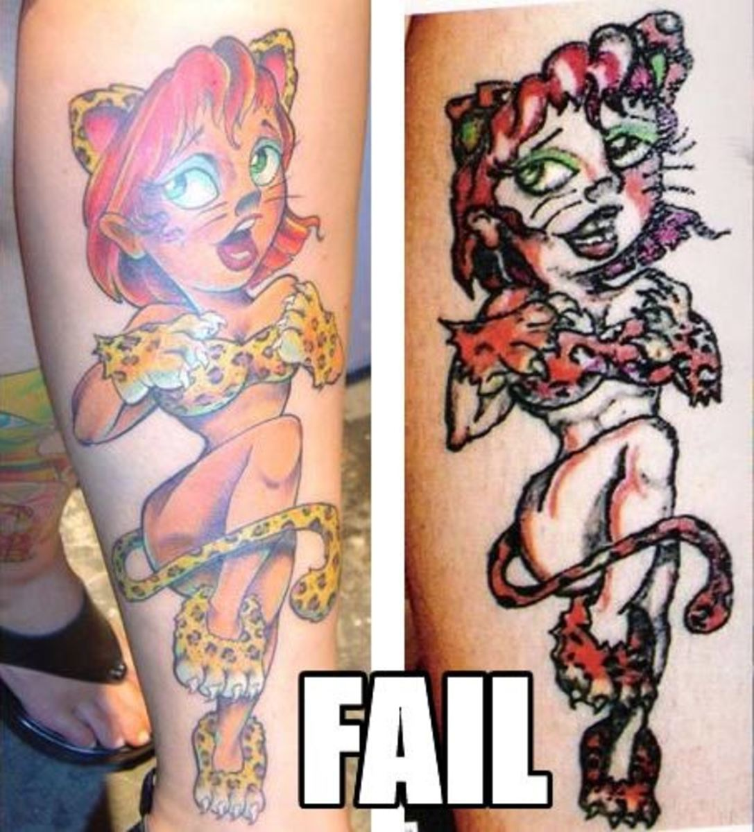 Can your tattoo artist actually draw??? Maybe you should ask before you go under the needle....
