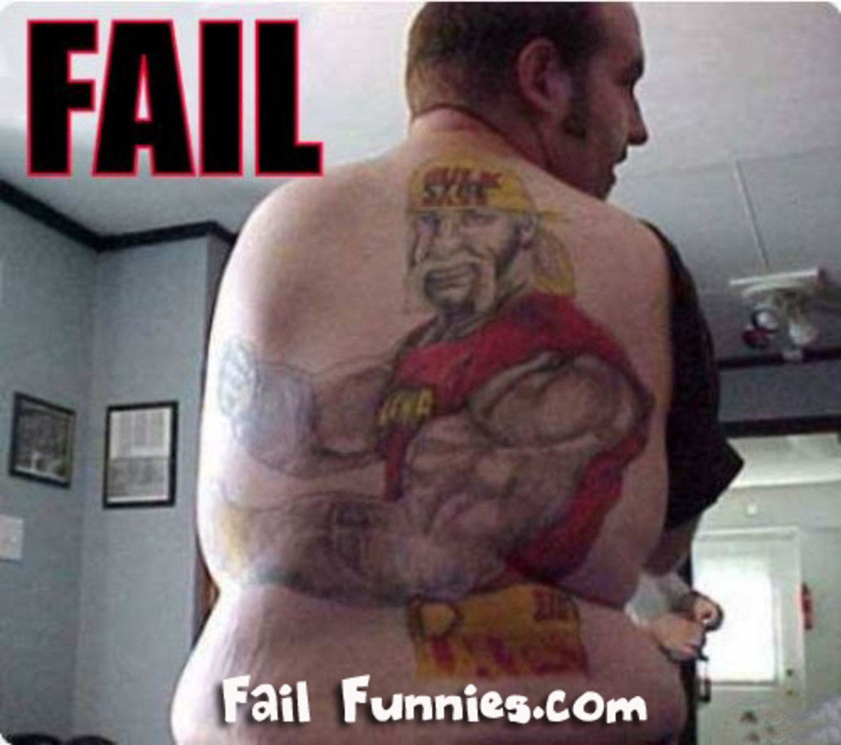 If I was Hulk Hogan, I'd sue and then make him go to Jenny Craig as part of the restitution.