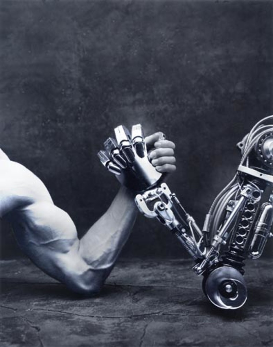 Modern Man Has Become Slave To Machines And Gadgets