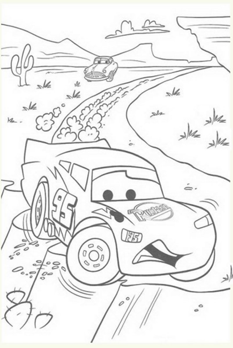 luther vandross  lightning mcqueen coloring pages free