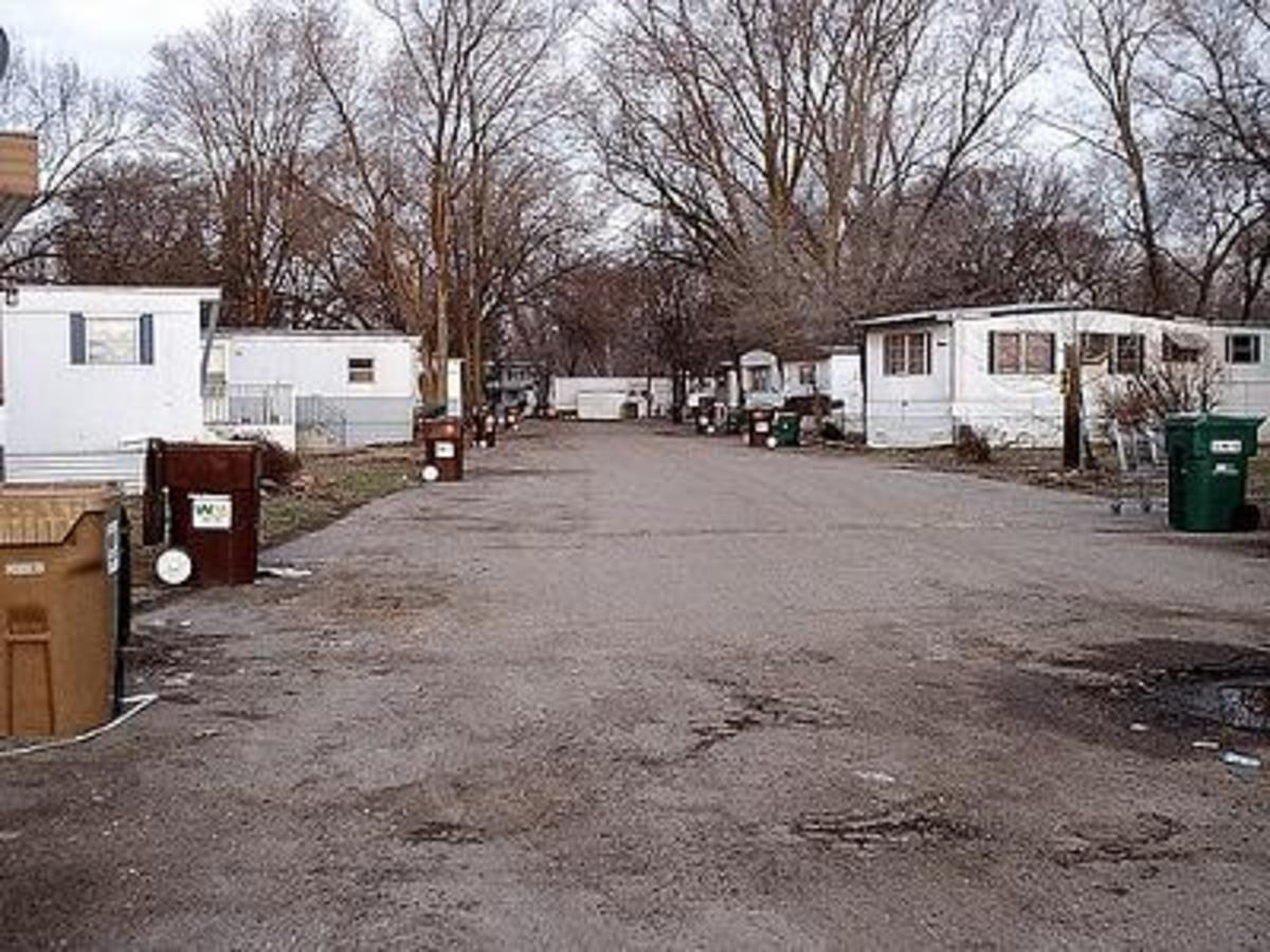Deer Lane Trailer Park, Bostic North Carolina