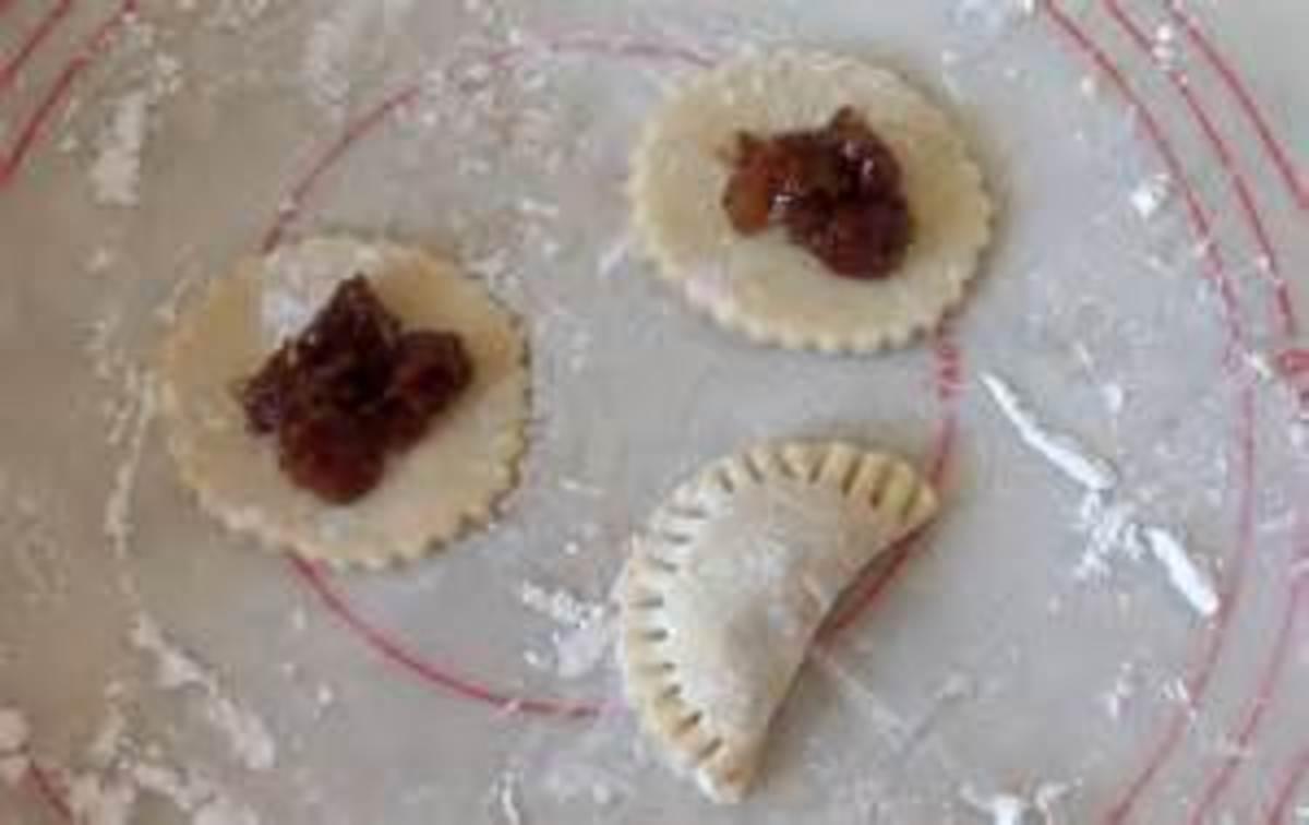 Date Filled Half Cookies