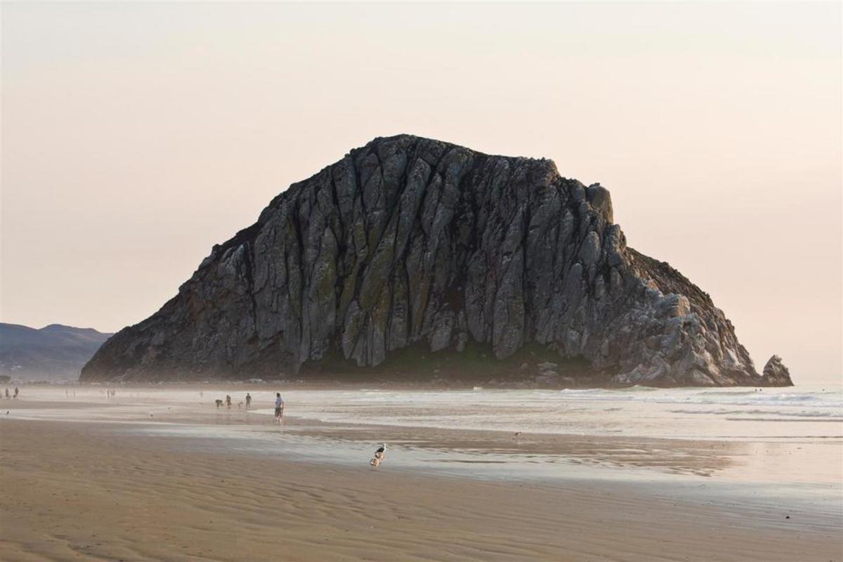 Morro Rock and Morro Bay, CA