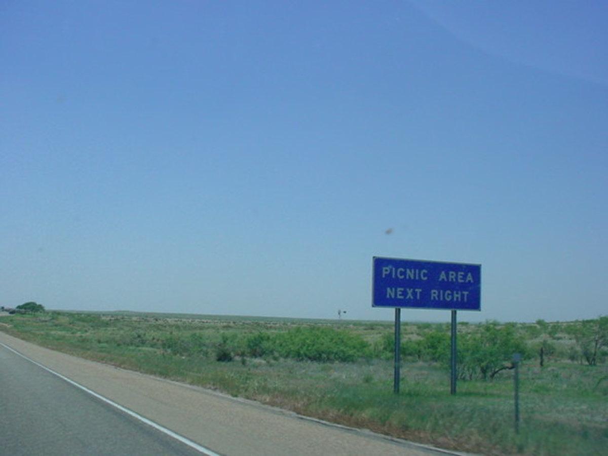 Along the I-40 Texas