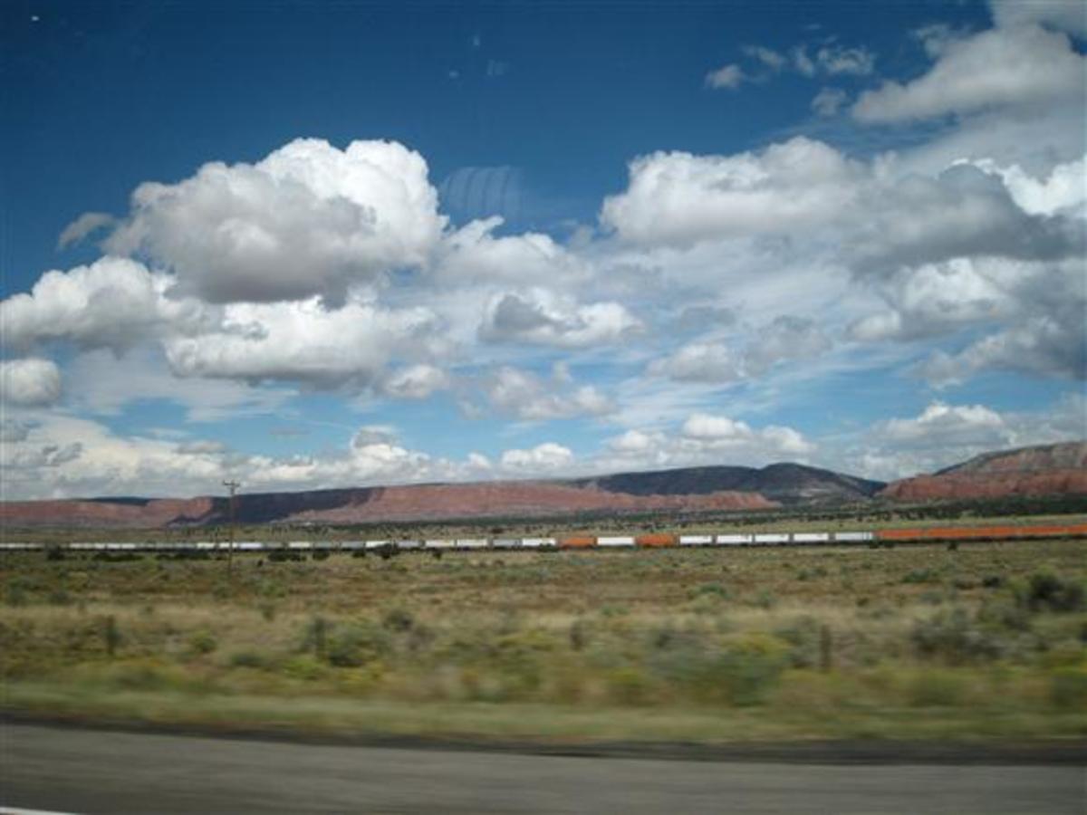 New Mexico, along I-40