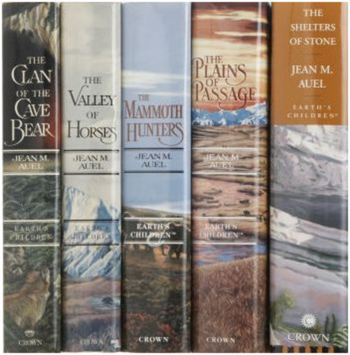 Earth S Children Series By Jean Auel Hubpages