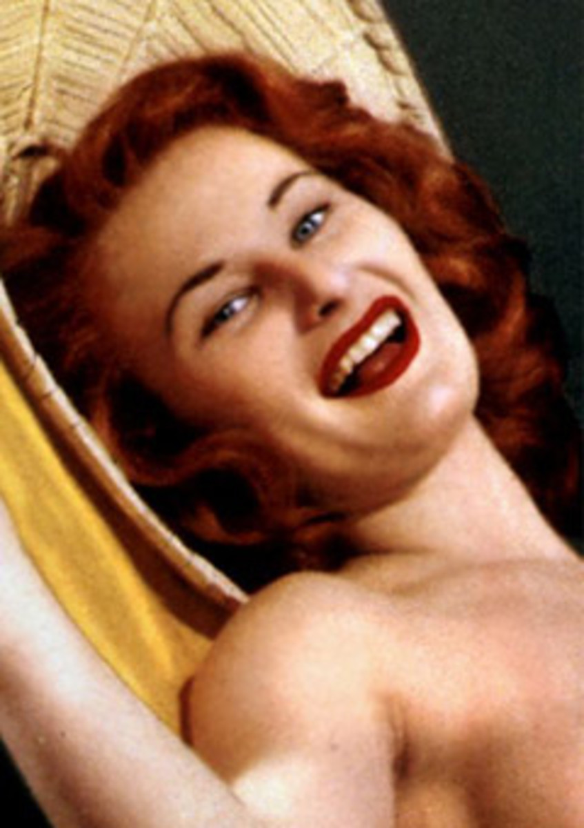 Diane Hunter - Playmate of the Month - November 1954