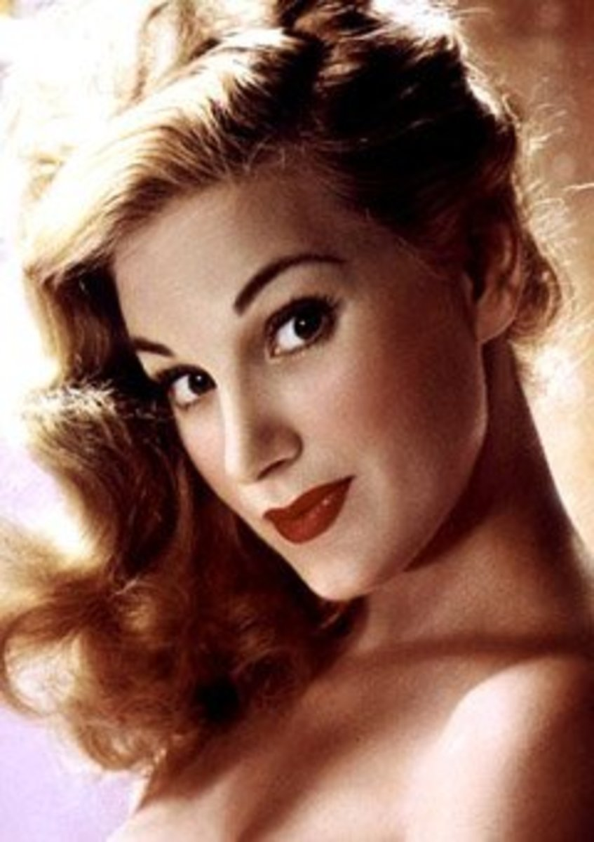 Margaret Scott was Playboy's playmate of the month in February 1954.