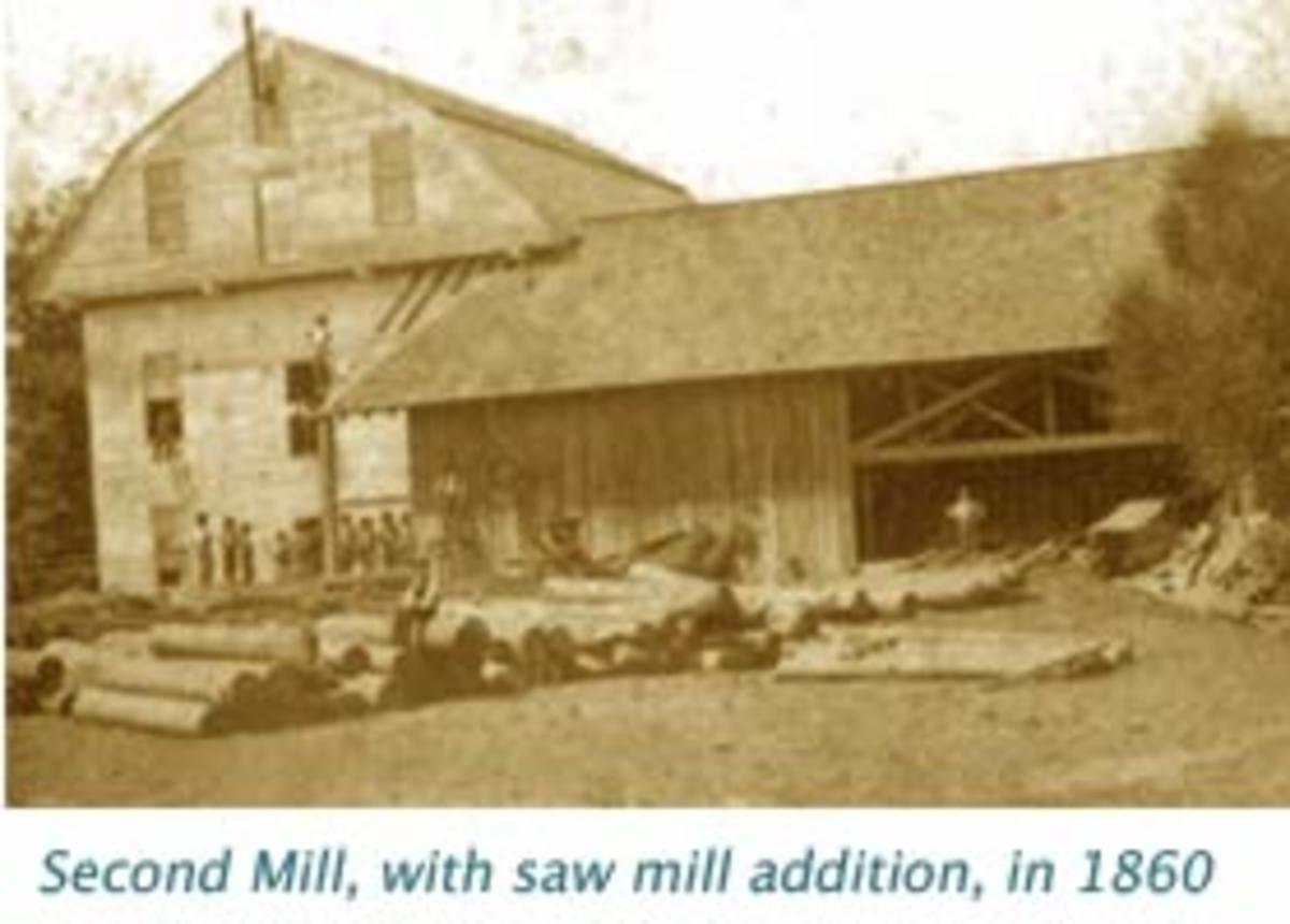 Old picture of the mill.