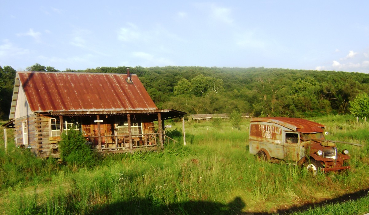 "The ""Hillbilly Cabin"""