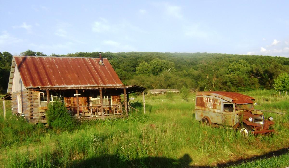 "The ""Hillbilly Cabin"""