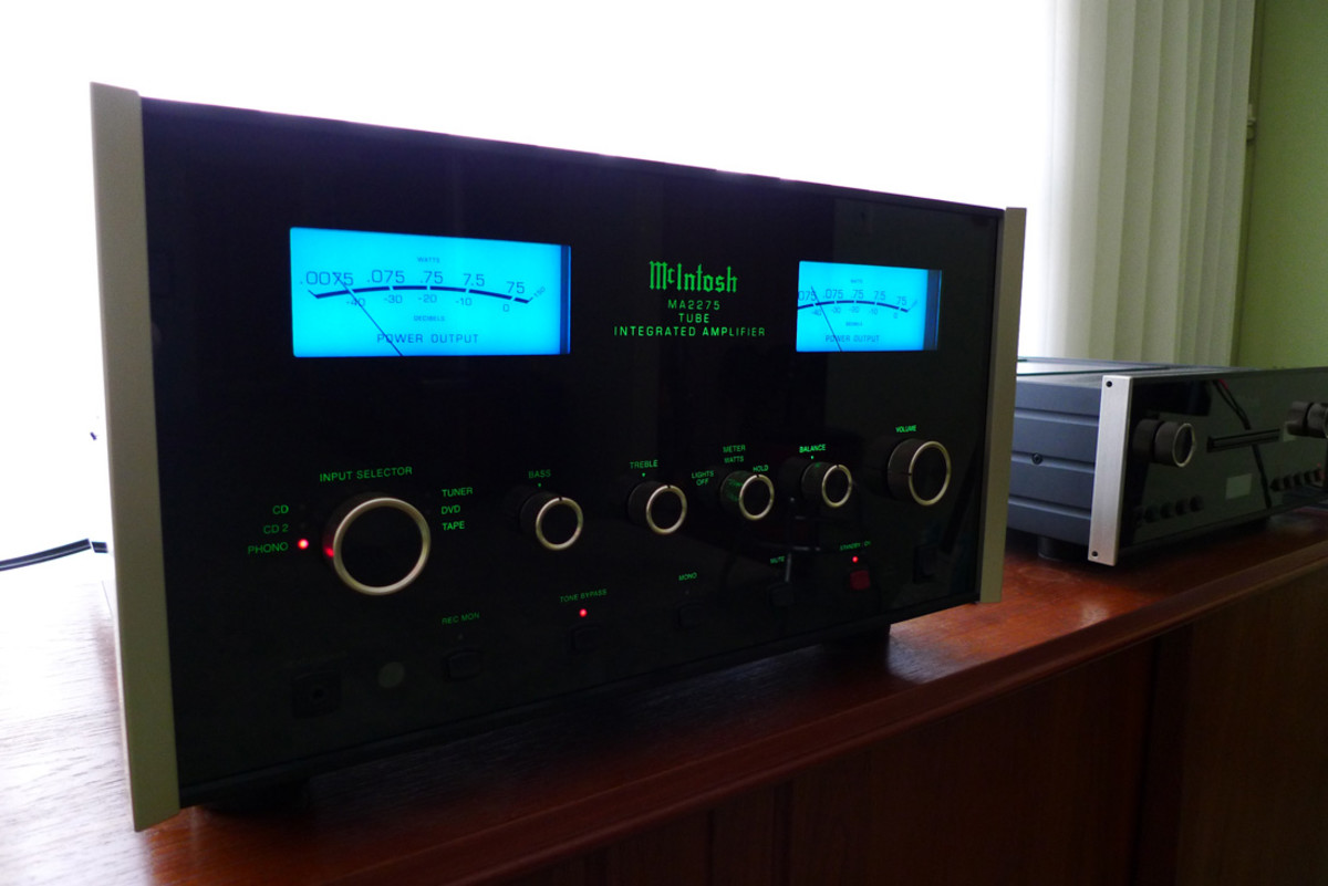 McIntosh MA 2275 Review - Tube Integrated Amplifier! | HubPages