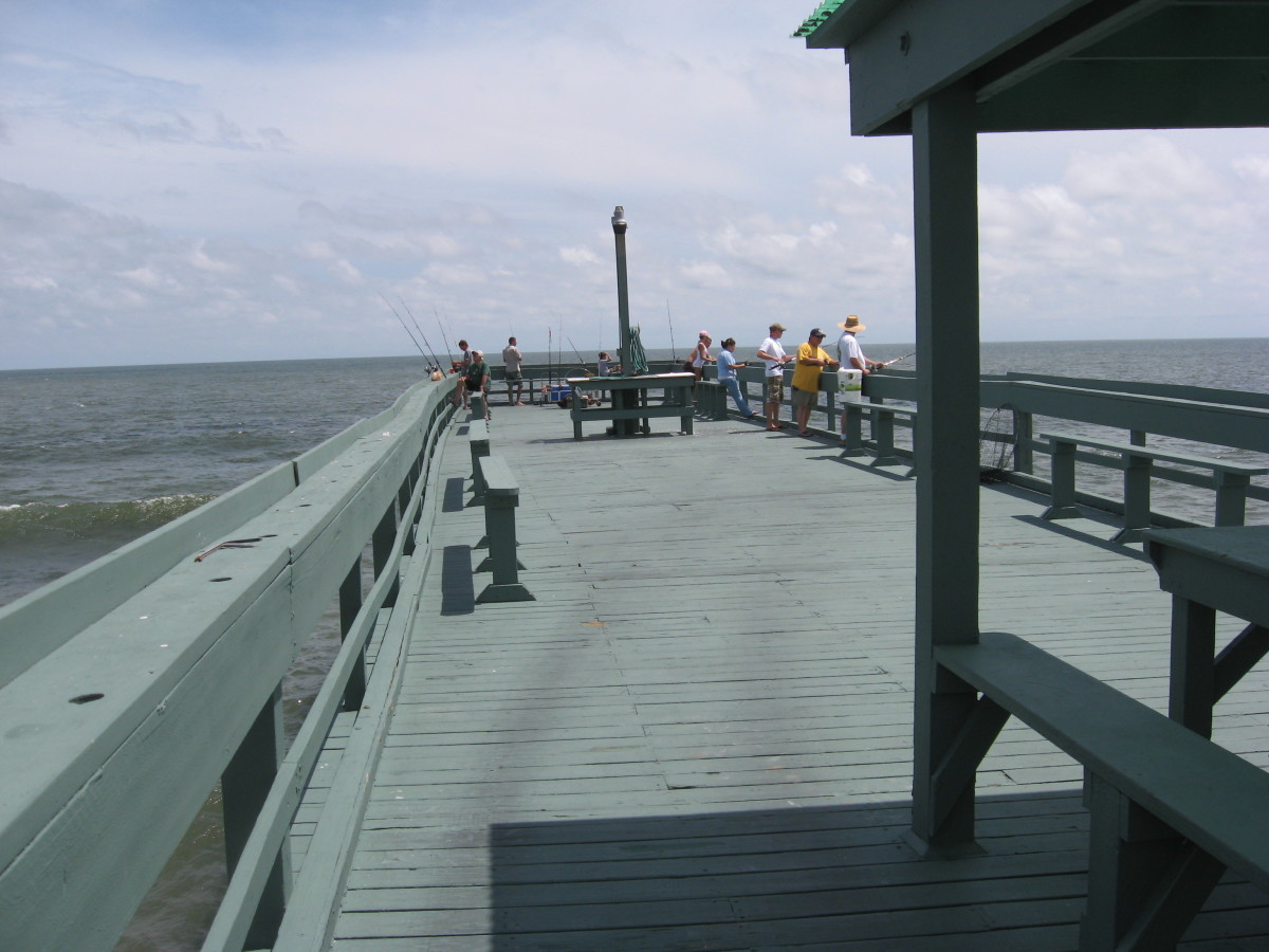 Saltwater fishing tips pier fishing in northern florida for Fishing piers in florida