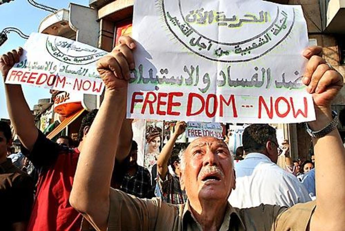 Egypt's Democracy rally; almost a quarter of Egypt's parliament walked out in protest ofer onstitutional amendmends proposed by President Mubarak, because the change will ban establishment of religious parties, do away with judicial supervision of ev