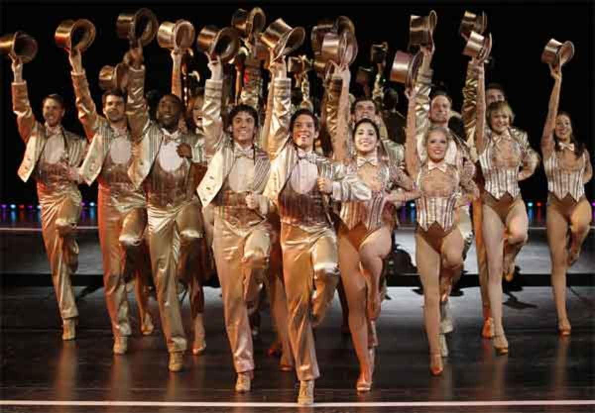 A Chorus Line: Final number