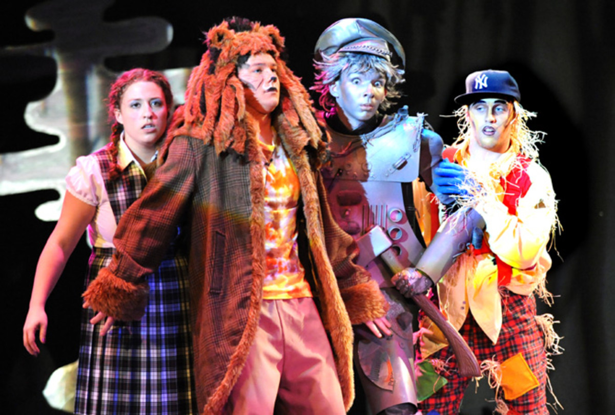 The Wiz: Dorothy, the Lion, the Tin Man and the Scarecrow