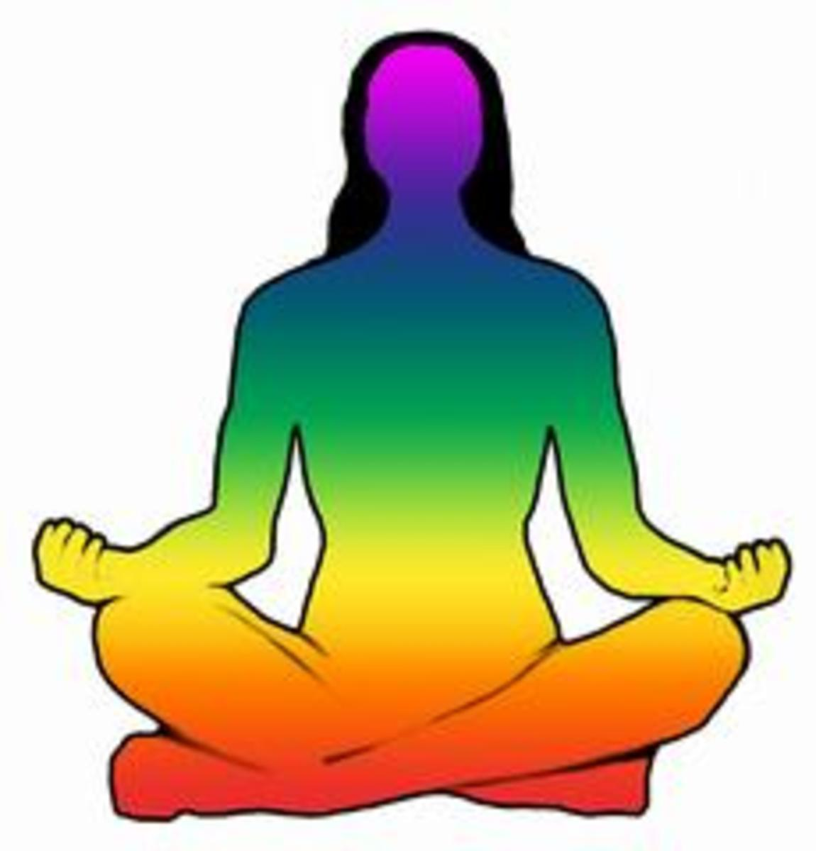 The 7 Chakra Centers in the Human body can be healed and balanced through Mantras