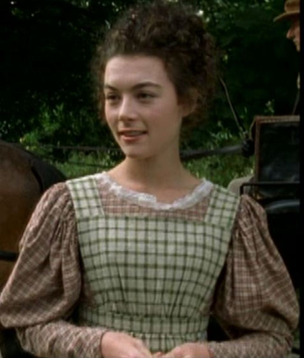 Justine Waddell as Molly Gibson in the film 'Wives and Daughters'