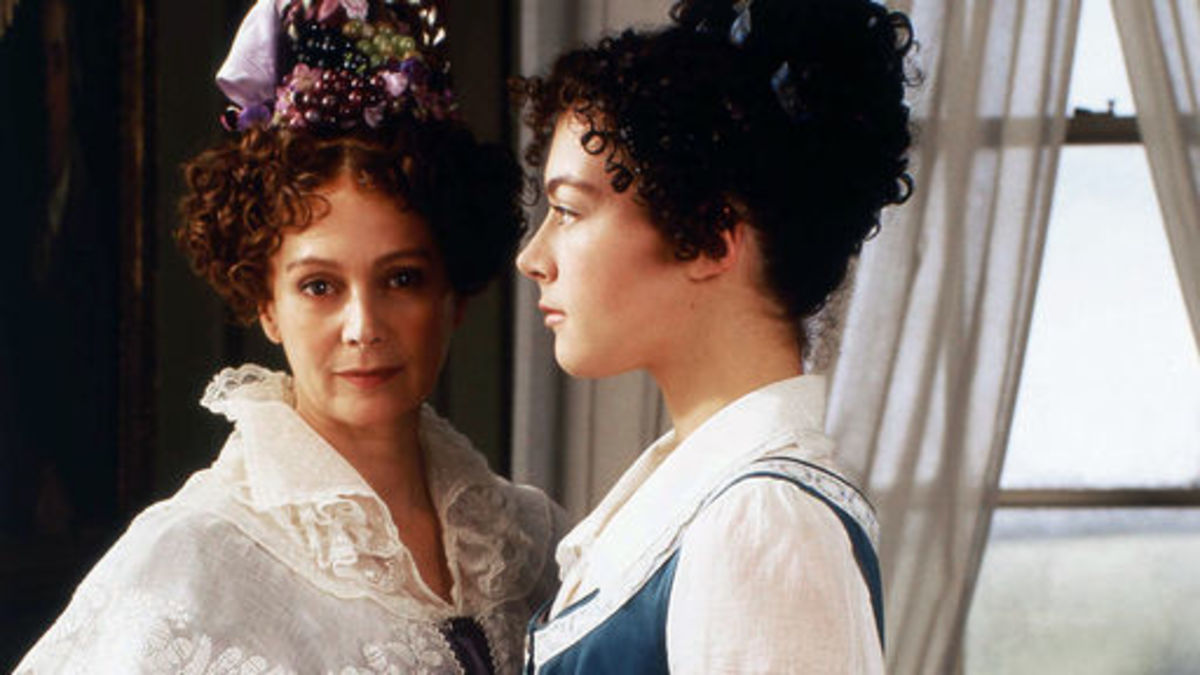 Francesca Annis and Justine Waddell
