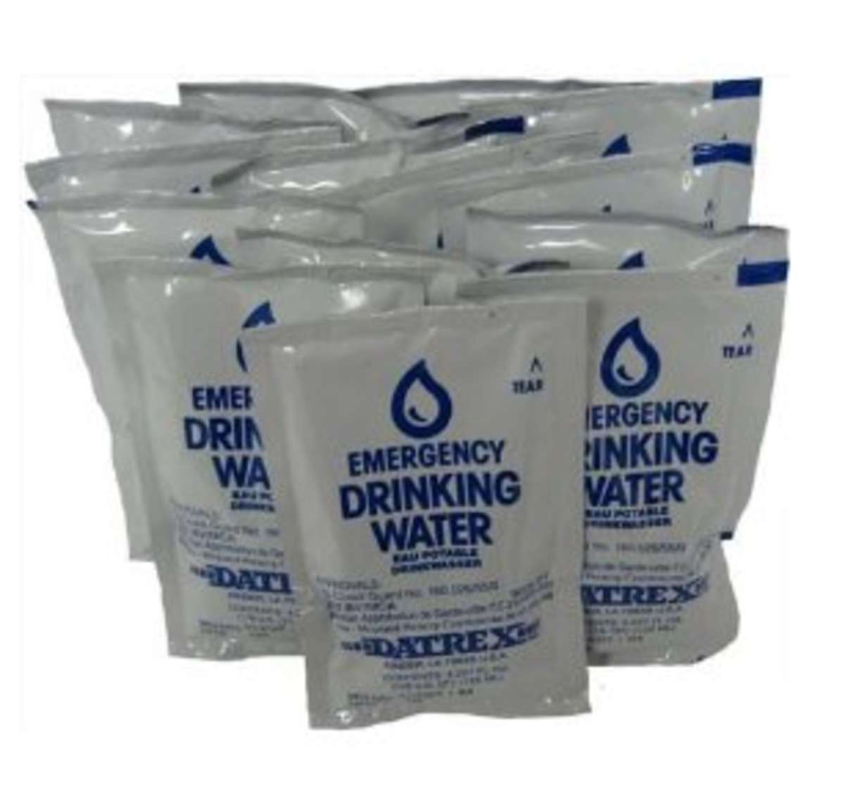 Emergency Water Pack from amazon.com