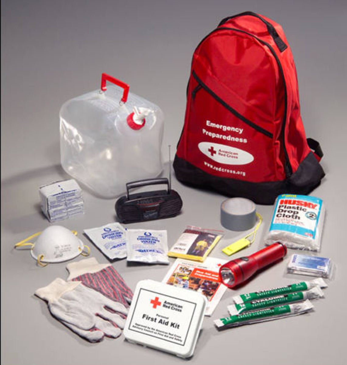 Contents of the Red Cross Survival Kit