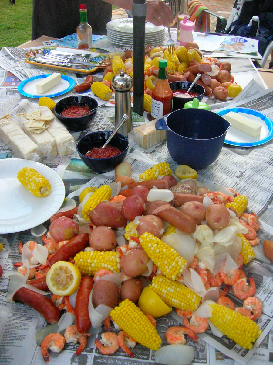 Easy entertaining tips low country boil hubpages - Deco snack ...