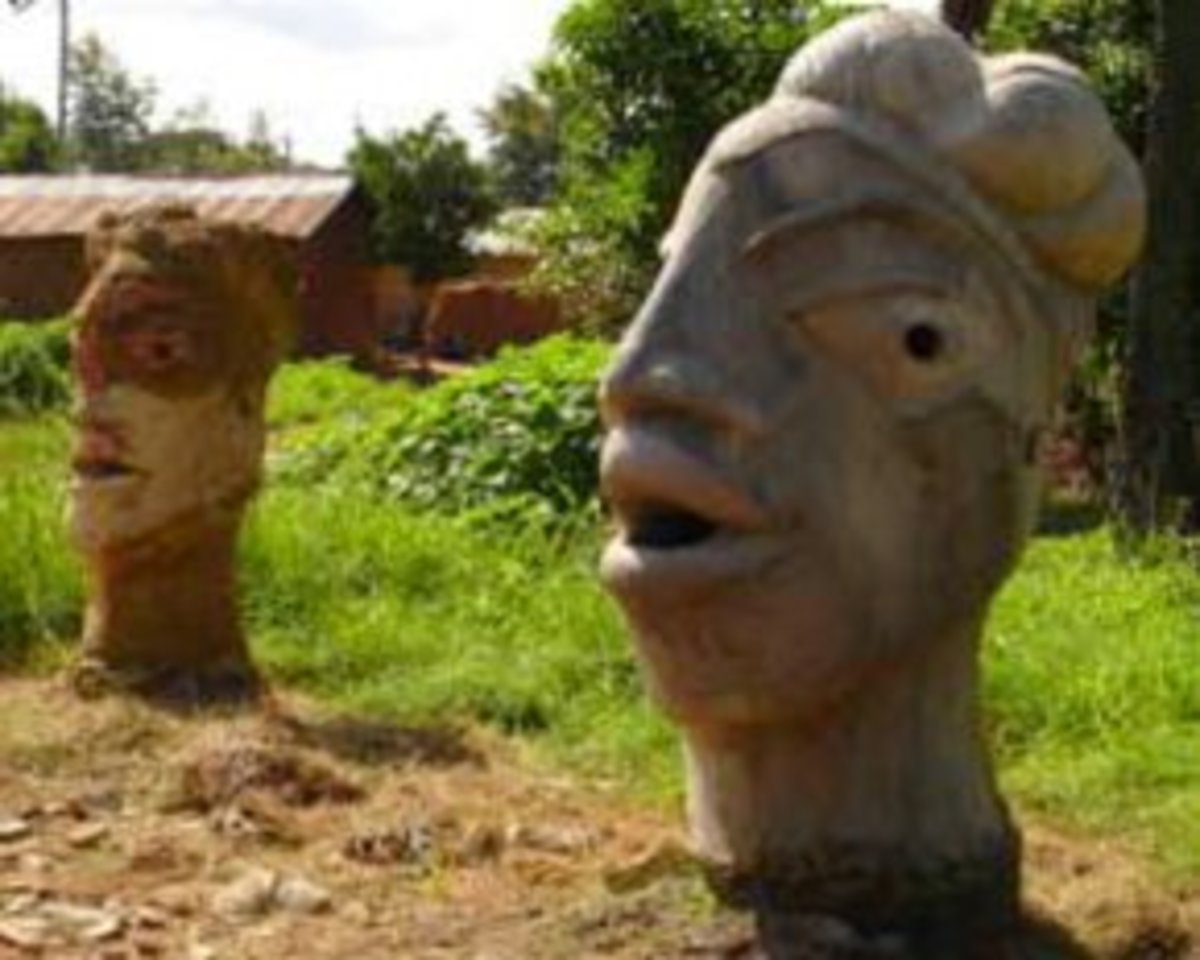 The Nok Village in Kaduna State of central Nigeria, 160 kilometers northeast of Baro discovered in 1938 due to mining in a site inhabited by the Nok civilization 500 years ago.