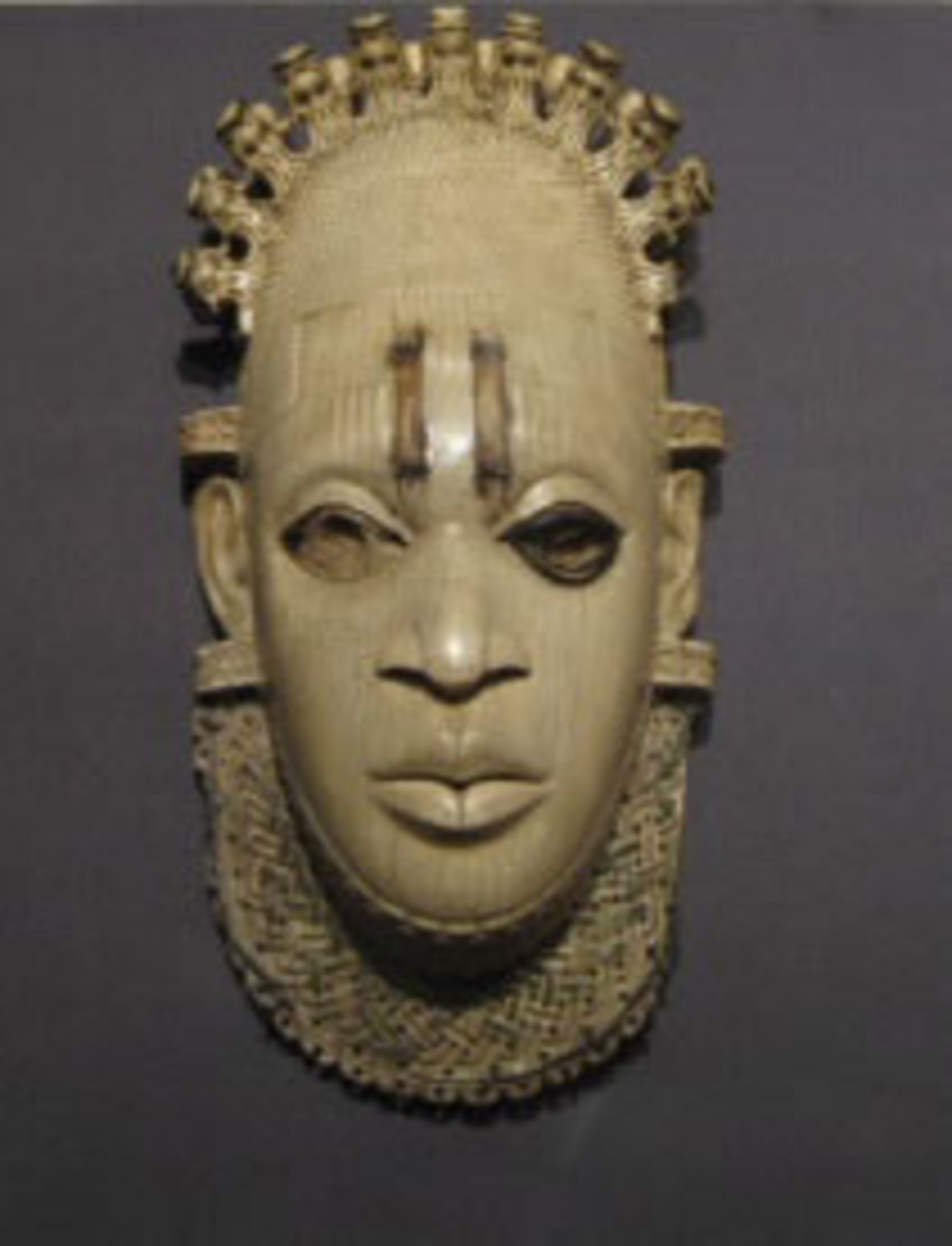 Queen-mother Idia, Benin/Nigeria(still in British Museum in defiance to the wishes of Africa, UN and Unesco for it  to be returned to its original people