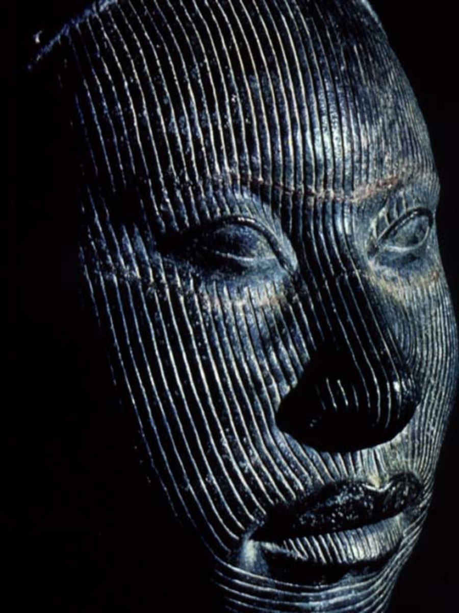 The Nok culture of Ife culture had a style which was realistic, not naturalistic but abstract