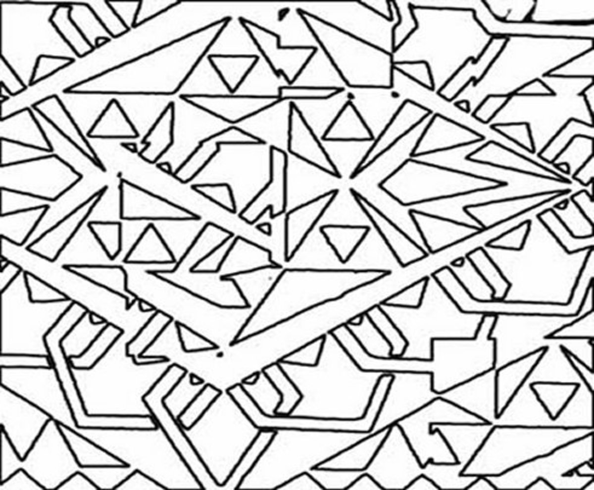 Mandala Pattern Adult Abstract Art Coloring Pages Free Colouring Pictures to Print
