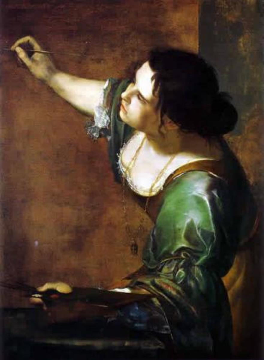 Female Baroque Artist - Artemisia Gentileschi