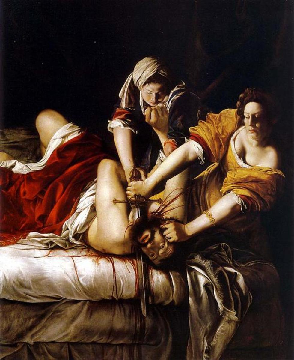 Judith and Homofernes