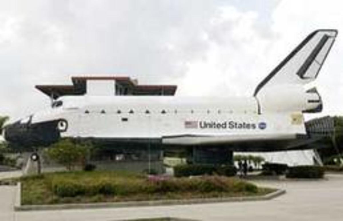Space Shuttle Plaza at KSC