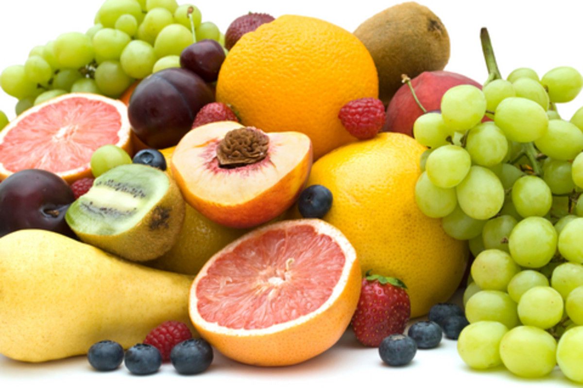 Limited fruit intake of maximum 2 fresh fruit a day
