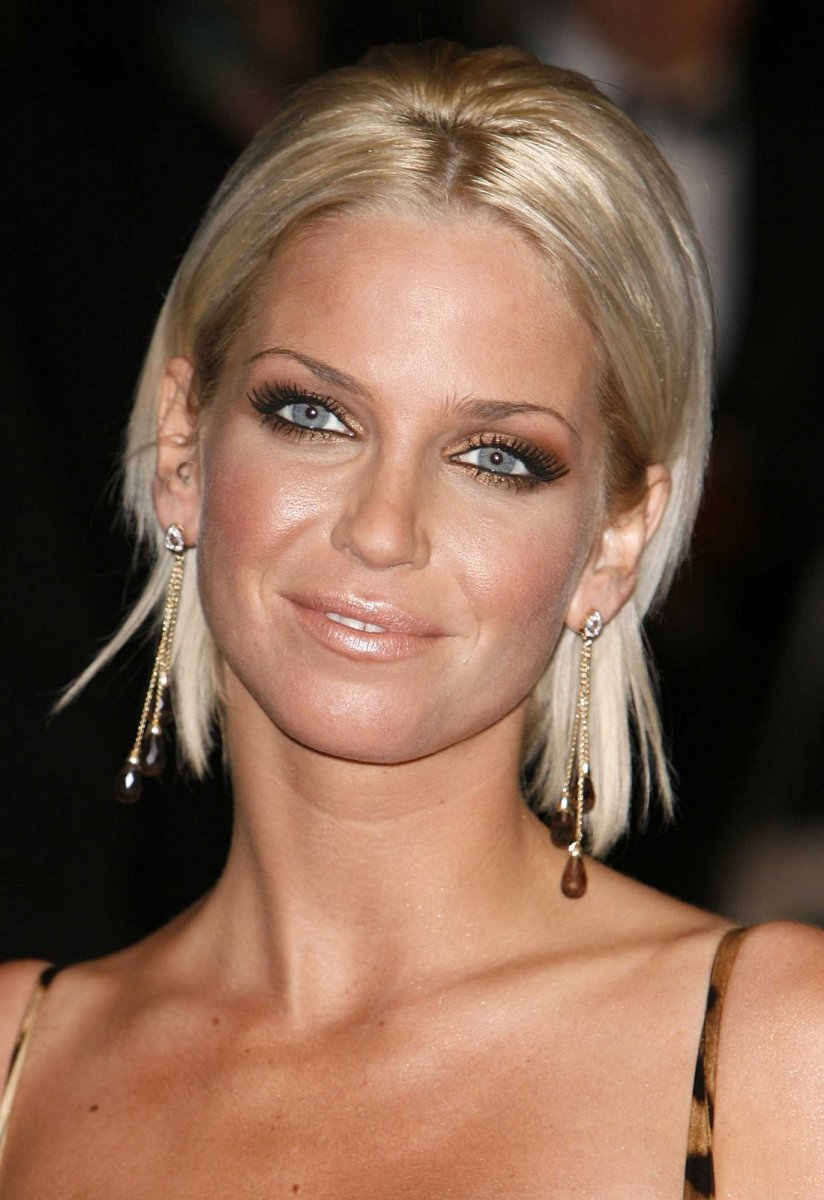 sarah harding short shaggy haircut