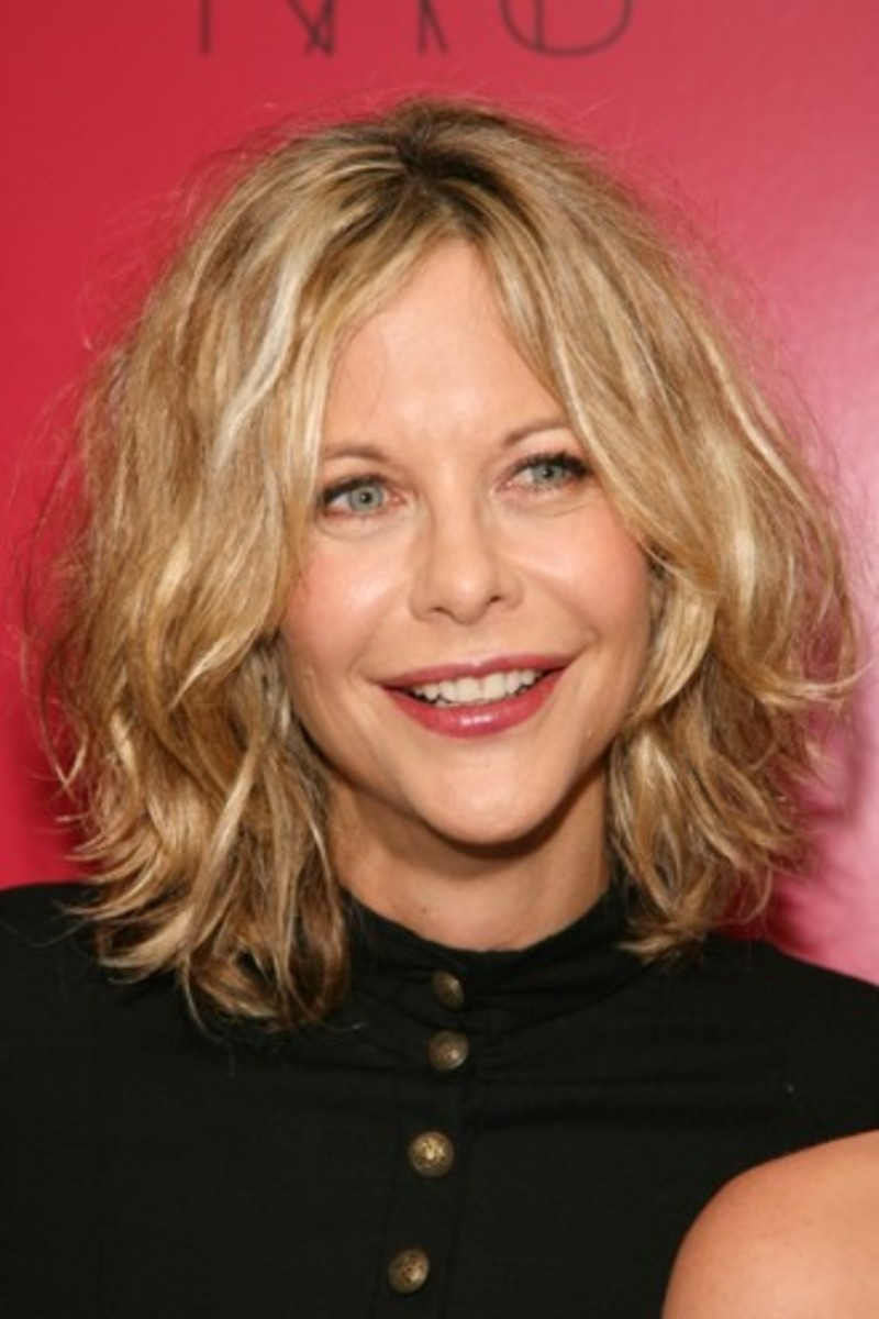 meg ryan shaggy bob