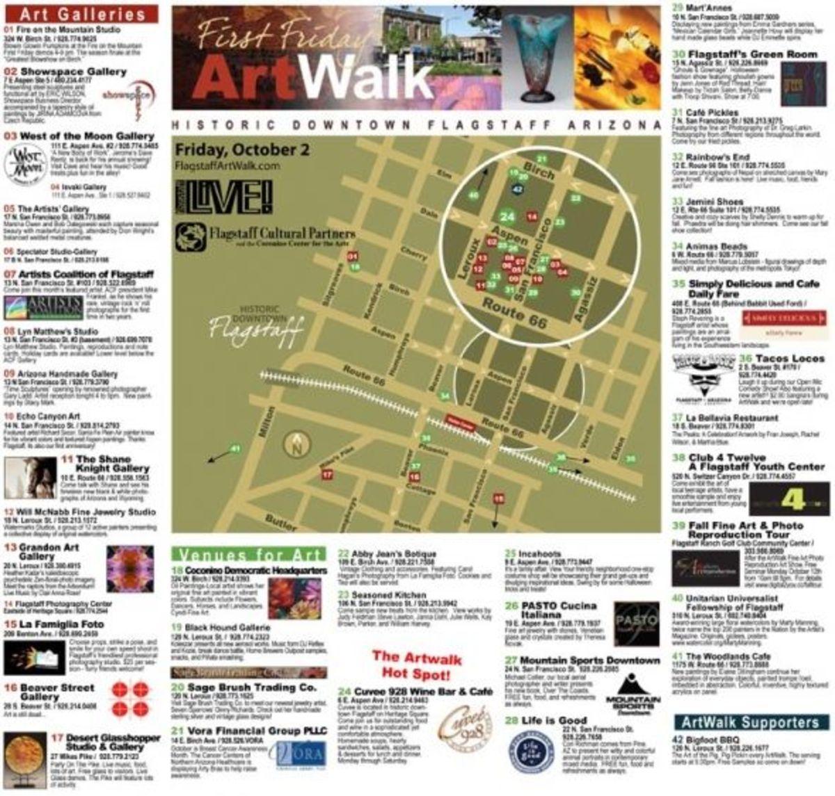 Flagstaff First Friday Art Walk
