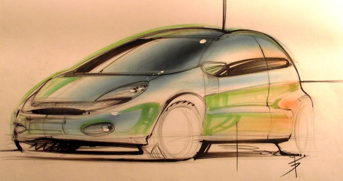 Car Sketches.
