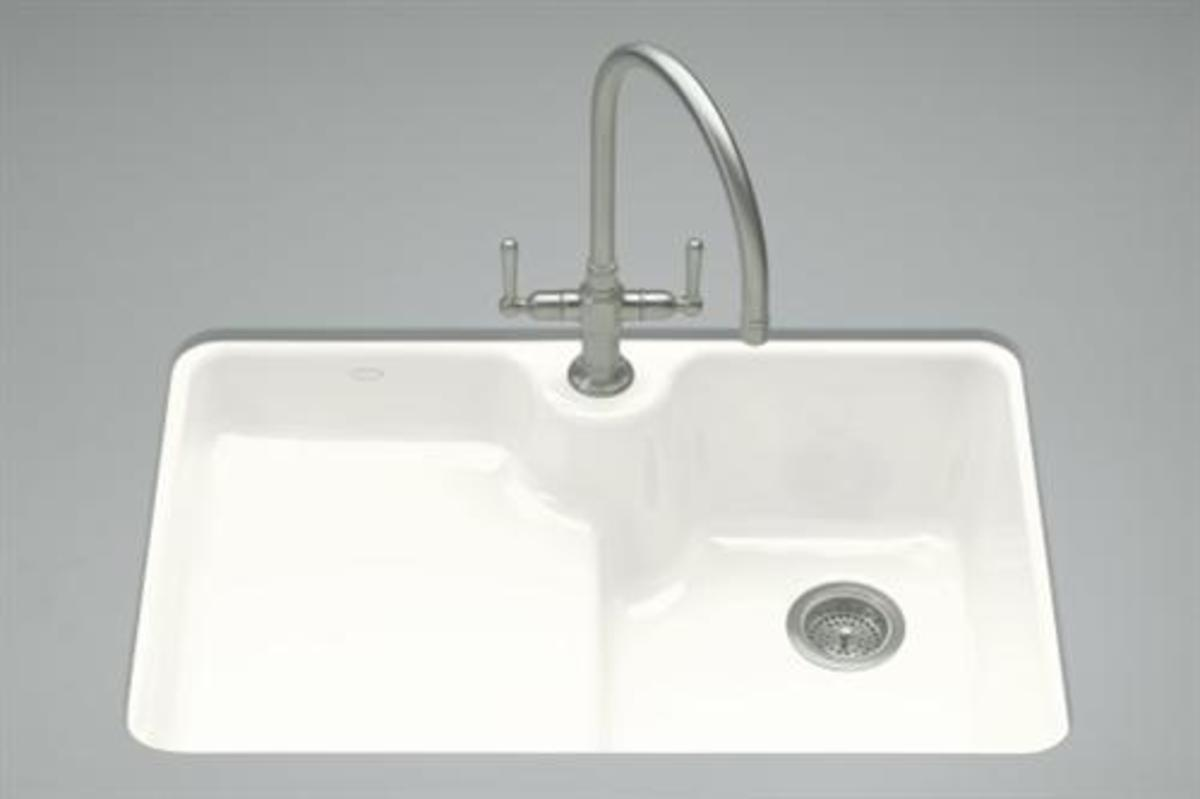 The perfect sink for cookware clean up