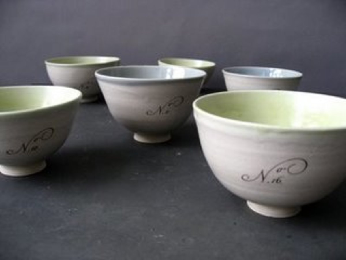 gorgeous bowls from gleena ceramics