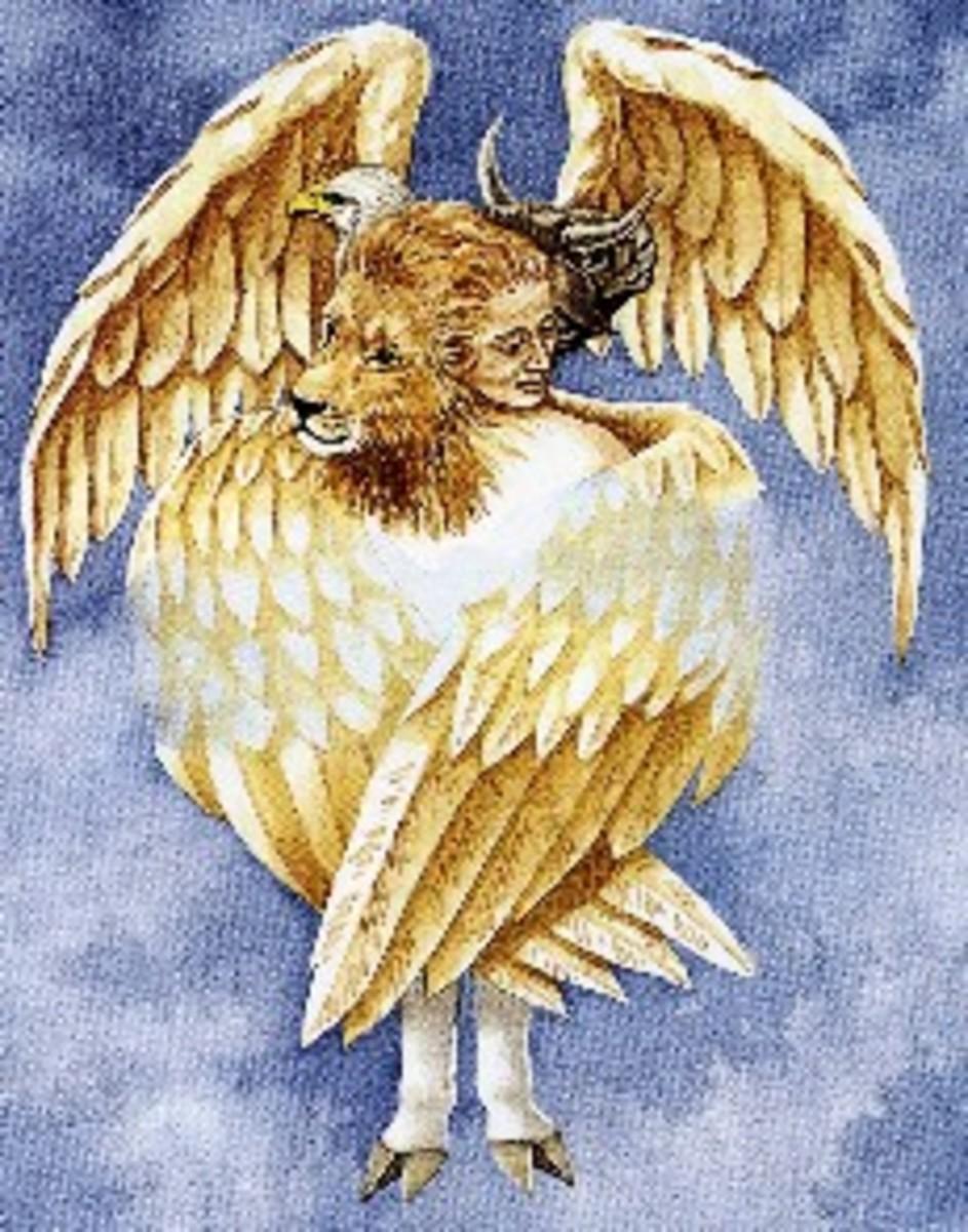 Cherubim (four wings)