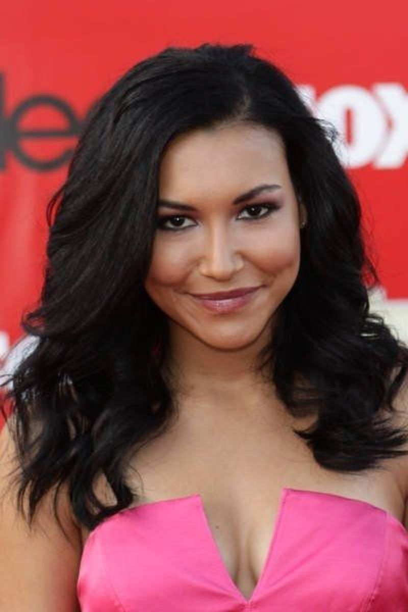 "Naya Rivera picture attending the ""Glee"" Los Angeles premiere at McKinley High School in Culver City."