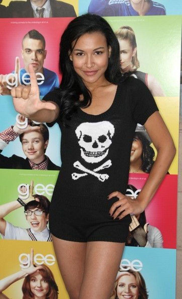 Naya Rivera at the Glee Premier