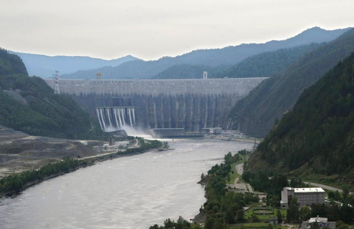 View of the Sayano-Shushenskaya dam and hydroelectric plant.    (AP Photo)