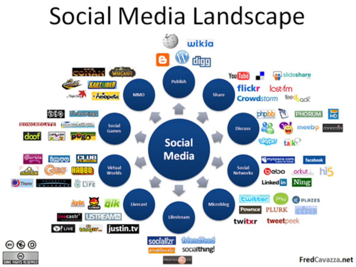 Social media is the fastest growing aspect of the internet and has spun off industries such as social marketing, reputation management and social media optimization. Since many sping up everyday, I contend this leads to some new form of gridlock