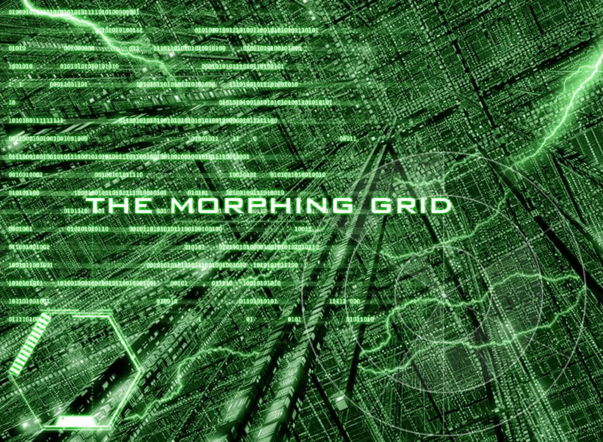 The Morphing Grid: We are all Morphing even if we do not know it. always in a state of change, but when we become conscious, the morphing accelerates; we can reinvent who we are...transfiguration