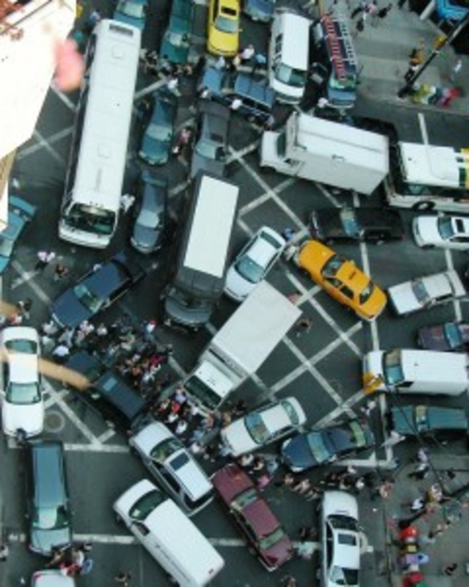 Gridlocked in the Intersection of a Metropolis like New York